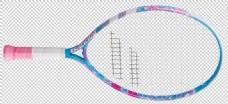 彩色网球拍免抠png透明图层素材