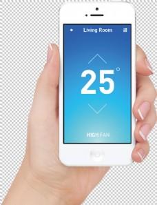 手拿智能手机效果图免抠png透明图层素材