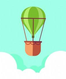 气球广告背景装饰素材