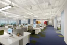 豪华办公室空间3D模型效果图