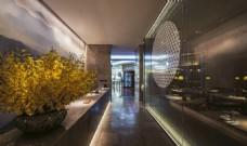 室内展览馆走道装修效果图设计图片