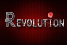 工业革命艺术字
