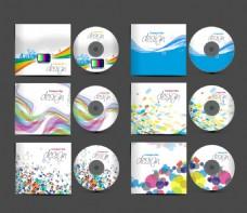 创意彩色企业标识应用矢量素材
