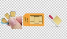 手机卡图片免抠png透明图层素材