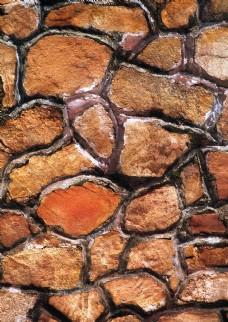 石墙背景墙素材