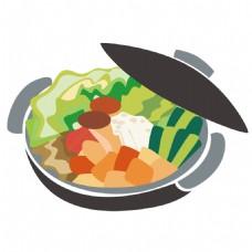 砂锅免抠素材图片