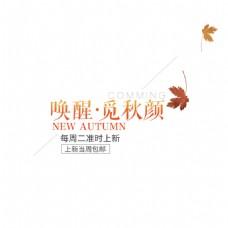 唤醒.觅秋颜字体素材图片