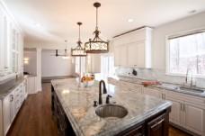 高端奢华厨房效果图素材PSD素材