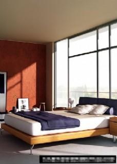 简单的卧室