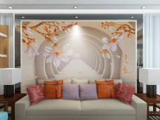 背景墙效果图模板混搭风格