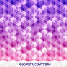 抽象几何无缝图案