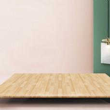 简约木板主图素材背景