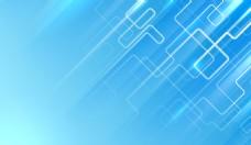 线条蓝色背景模板