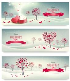 卡通爱心情人节矢量爱心素材