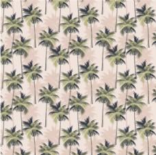 水彩淡雅唯美夏季夏威夷叶子背景素材