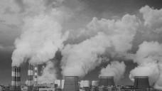 工厂冒出来的烟