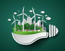 环保主题设计矢量素材