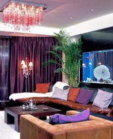 室内客厅现代潮流精装修