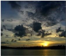 海边日出动态视频素材