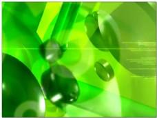 抖动黄绿背景视频素材