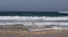 大气海浪翻滚实拍视频素材