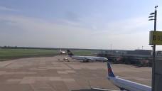 机场的广角镜头