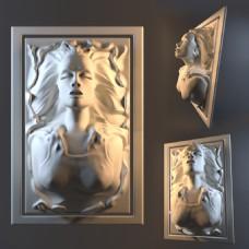 国外雕刻人物模型