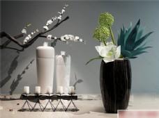 花瓶烛台摆件模型素材下载