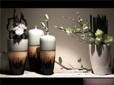 莲花精美花瓶模型素材