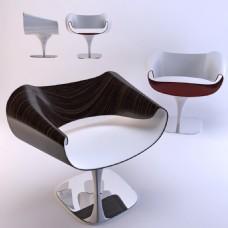 简约创意座椅3d模型
