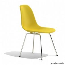 黄色简约椅子模型