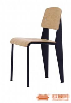 现代时尚木质简约椅子3d模型