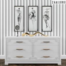 欧式风格柜子装饰画