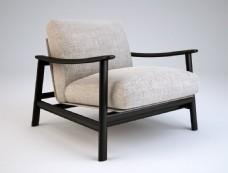 新中式椅子模型