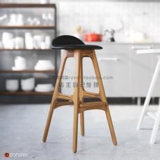 木制椅子模型下载