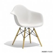 白色简约椅子模型