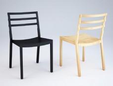 实木椅子3d模型