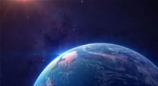 蓝色地球淘宝全屏banner背景