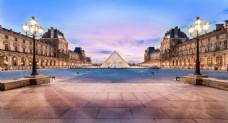 现代梦幻城市背景