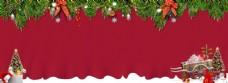 喜庆圣诞节装饰背景