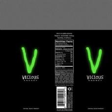 v字标志功能饮料包装设计