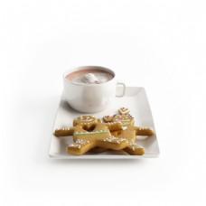 曲奇奶茶下午茶组合模型素材