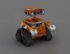 3dsmax模型:et机器人模型