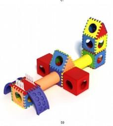 儿童玩具模型