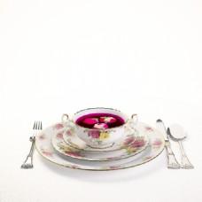 玫瑰花茶模型