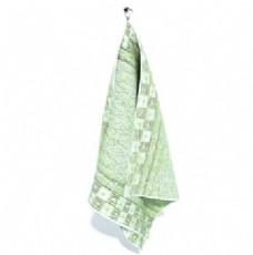 素色柔软实用毛巾3d模型