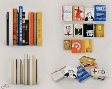 书本装饰品素材模型下载