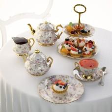 精美西点下午茶模型