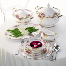 蔬菜玫瑰茶模型