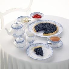 蓝莓派下午茶模型